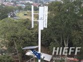 Costa Rica 300W vertical Wind Turbine