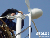 Greece 2kW Wind Turbine
