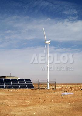 Jordan 10kw Wind Turbine For Telecommunication Tower