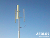 Italy 1kW Vertical Wind Turbine