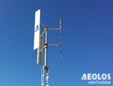 Spain 1kW Vertical Wind Turbine