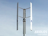 Spain 3kW Vertical Wind Turbine