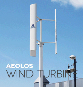 1kw vertical wind turbine picture